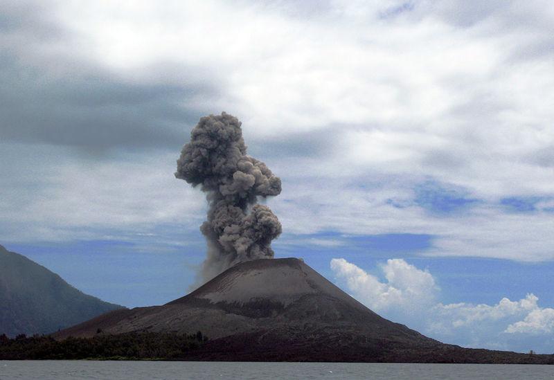 ภูเขาไฟกรากะตัว